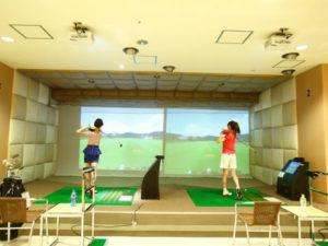 室内ゴルフ2