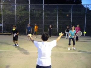 ナイトテニス